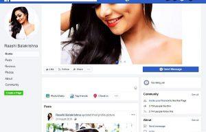 raashi balakrishna facebook
