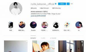 ryota katayose instagram